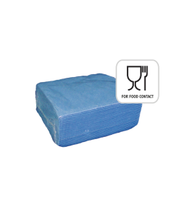 Food Tissue Blue