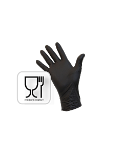 Handschoenen Nitril Zwart Extra Large