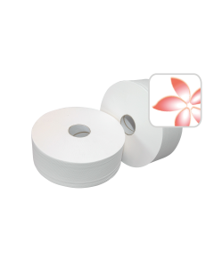 Wc-Papier Mini Jumbo Wit